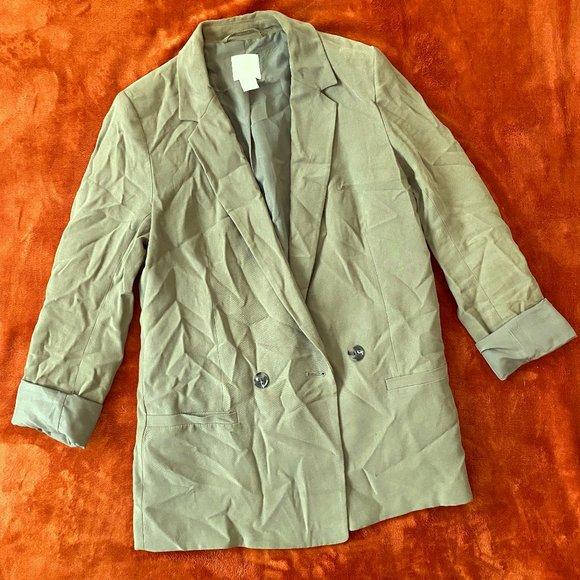 H&M Sage Green Blazer
